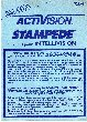Stampede Manual (Activision 721.011)