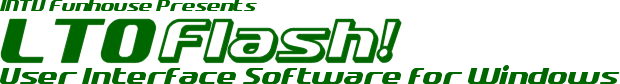 LTO Flash! User Interface Software Logo