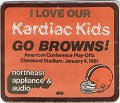 1980 Cleveland Browns Kardiac Kids Play-Offs (Promotional Coupon)