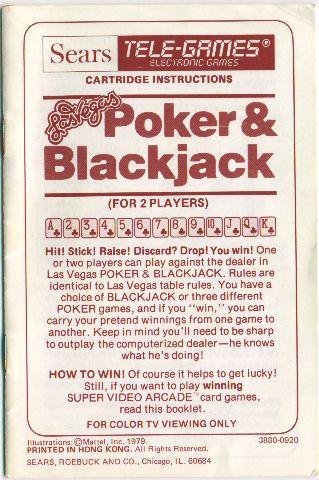 Intv Funhouse Las Vegas Poker Blackjack